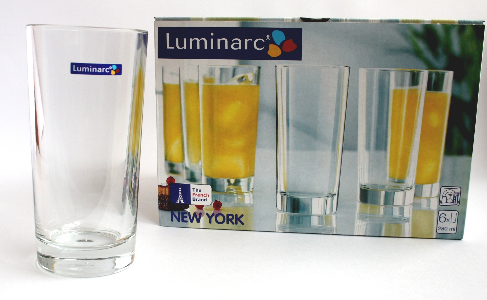 Стакан высокий 280мл Luminarc New York Н5159
