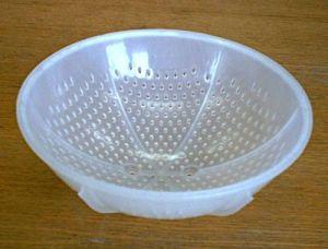 Купить Форма для расстойки хлеба круглая пластиковая 0,8кг d-210*h-80мм