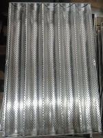 Купить противень алюминиевый для багетов 5 волн 600x400мм недорого.