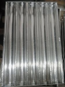 Купить Противень алюминиевый для багетов 5 волн 600x400мм