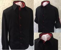 Купить Рубашка мужская с длинным рукавом ткань Голландия 35%х/б*65%пэ пл. 117г/м2