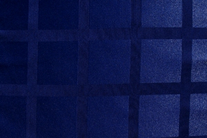 Купить Ткань Журавинка клетка темно-синяя