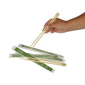 Купить Палочки для суши бамбук 23 см 50 шт/уп PapStar 10019