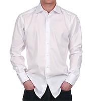 Купить Рубашка мужская классическая с длинным рукавом, ткань сорочечная Tootal fabrics Голландия TR-065 35%х/б*65%пэ пл. 117г/м2