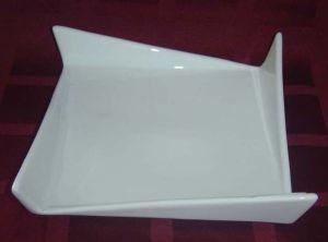 Купить Тарелка квадратная фигурная 240х240 мм F1602