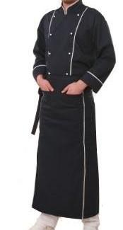 Купить Китель повара двубортный мужской, тк. саржа 65% пэ+35% хб пл.190гр/м2