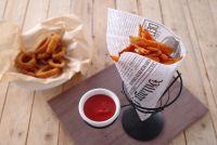 Купить корзинка для подачи картофеля и соуса 210x110*h-172мм hendi 630914 недорого.