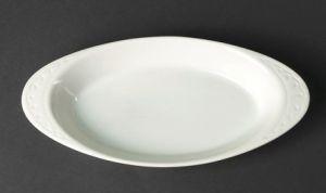 Купить Блюдо овальное глубокое с ушками 220 мм HR1196