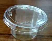 Купить Контейнер одноразовый для соуса с крышкой 50мл d-5*2.9 см 1000шт/уп 5 HF
