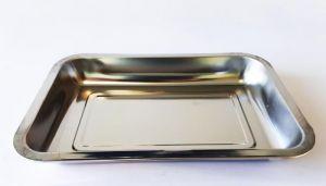Купить Поднос глубокий нержавеющая сталь 360х270х40мм 196-51