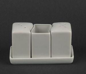 Купить Набор для специй на подставке ( соль, перец, зубочистки) HR1571