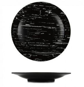 """Купить Тарелка глубокая d-300 мм """"Темный камень"""" G1706"""
