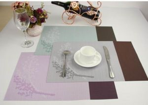 Купить Сет для сервировки стола PVC 45*30см коричнево-серый, коричнево-бирюзовый, сиренево-фиолетовый 179-85