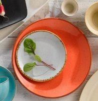 Купить тарелка мелкая 180 мм seasons orange 187618 недорого.
