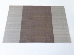Купить Коврик для сервировки стола PVC 30х45см коричневый 194-51
