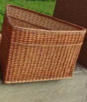 Купить лоток угловой плетеный из лозы 60х60-h-40см недорого.