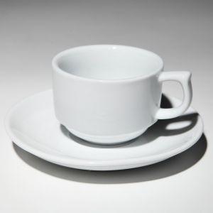 Купить Чашка с блюдцем чайная 250мл F2076+F099