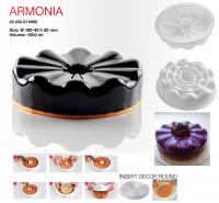 Купить Форма силиконовая для десертов d-180/40*h-50мм 1000мл Silikomart Armonia
