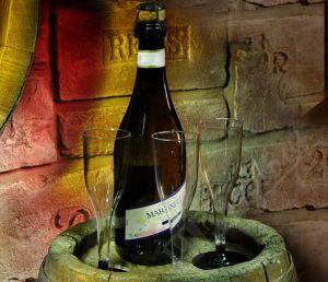 Купить Бокал для шампанского на съемной ножке 120 мл 96 шт/уп Украина 9608