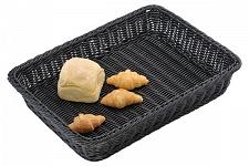 Купить Корзина для выкладки выпечки 600х400*h-100мм с металлическим каркасом внутри