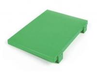 Купить Доска кухонная с 2 мя ножками 400*300*20мм зеленая Durplastics 9842