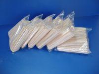 Купить мешалки деревянные 14 см в п/е упаковке 800 шт/уп недорого.
