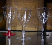 Купить Бокал стеклоподобный для вина 200 мл 300 шт/уп на съемной ножке Украина