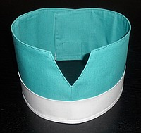 Купить Кокошник продавца ткань саржа х/б 20% пэ 80%,пл. 205г/м