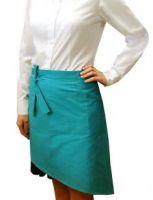 Купить Фартук асимметричный 45х50см ткань саржа 20%х/б*80%пэ пл. 200г/м2 мод.47