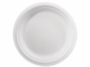 Купить Тарелка бумажная круглая белая 17 см 175 шт/уп