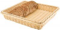 Купить корзина плетеная пластиковая для хлеба gn1/2 325х265х65мм aps 40222 недорого.