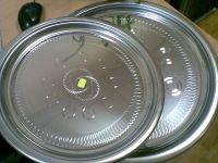 Купить Блюдо круглое нержавеющая сталь d-400мм Ekber 4111100