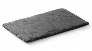Купить Блюдо для подачі чорний сланець 250x195мм