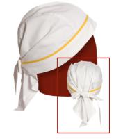 Купить Бандана поварская ткань саржа х/б 20% пэ 80%,пл. 205г/м