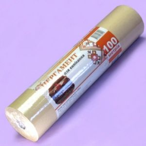 Купить Пергамент для выпечки коричневый 100м*420мм