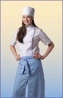 Купить Костюм повара женский двубортный тк. саржа 65% пэ+35% хб пл.190гр/м2