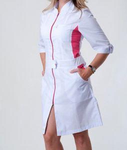 Купить Халат медицинский модельный тк. батист 2136