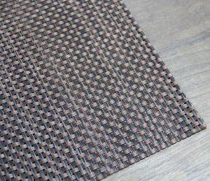 Купить Коврик для сервировки стола PVC 45х30см коричнево-черный 164-46