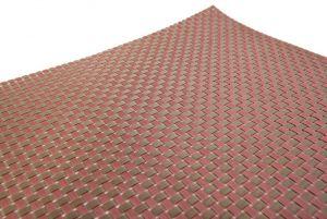 Купить Сеты для сервировки стола крупное плетение 45х30см бордо/золото 60-05