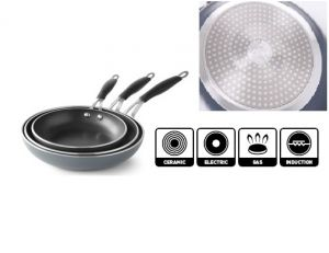 Купить Сковорода с нано-керамическим покрытием d240x50 мм Hendi 621110