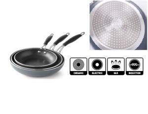 Купить Сковорода алюминиевая с нано-керамическим покрытием d260x52 мм Hendi 621127