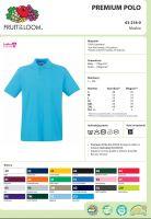 Купить Рубашка поло мужская Fruit of the Loom 100%хб 63-218-0