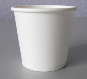 Купить Стакан бумажный белый 110мл 50шт Украина