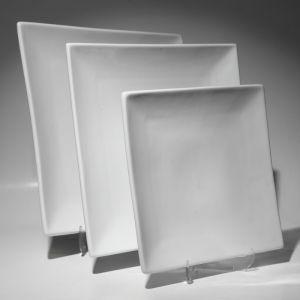 Купить Тарелка квадратная без борта 255мм F0007-1