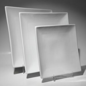 Купить Тарелка квадратная без борта 280мм F0007-2
