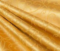 Купить Ткань Дукат вьюнок золото,красный шир. 300мм пл.285гр