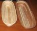Фото Форма для расстойки хлеба овальная из лозы ~0,6кг L-280хB-125*h-70мм #12766