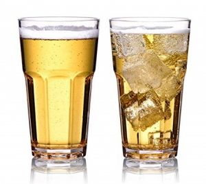 Купить Стакан для пива из поликарбоната 340мл d-77*h-140мм Granity 8573