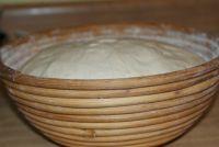 Купить форма для расстойки хлеба круглая из лозы ~1,2кг d-230*h-80мм недорого.