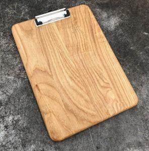 Купить Планшет деревянный с зажимом для меню кафе А4 дуб 15мм